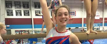 Abby Reynolds wins Regional Gold - Salem Gymnastics & Swim