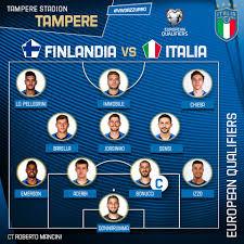 FORMAZIONE Gli 11 #Azzurri scelti dal Ct... - Nazionale Italiana di Calcio
