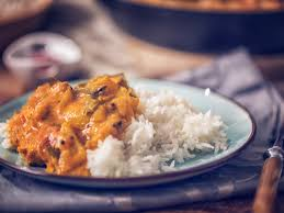 basmati and plain white rice