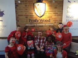 Red is the colour for Perry Wood Primary | Droitwich Advertiser