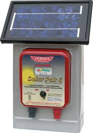 6v Solar Powered Electric Fence Charger Princess Auto