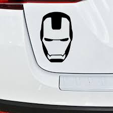 Personalized Iron Man Style Car Stickers Fashion Windshield Bumper Window Cover Scratches Waterproof Decoration Accessories Pvc Car Stickers Aliexpress