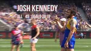 Josh Kennedy all 43 Goals 2018 - YouTube