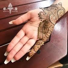Mehndi Design Simple Mehendi Design Inside Hand