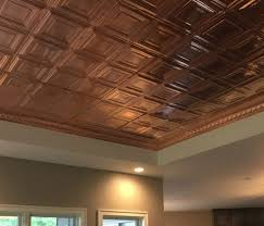 bring copper ceiling tiles into your
