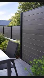 This Is Stunning Privacy Fence Line Landscaping Ideas 27 Image You Can Read And See Another Amazing Image Idea Privacy Fence Designs Modern Fence Fence Design
