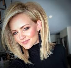 Blonde Lob Fryzury Wlosy Ladne Wlosy