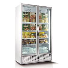 771l vertical glass door commercial freezer