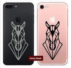 Geometric Horse Head Vinyl Decal Sticker For Iphone And Etsy