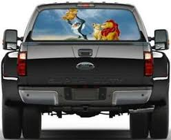 Lion King Simba Rear Window Decal Graphic Sticker Car Truck Suv Van Disney 414 Ebay