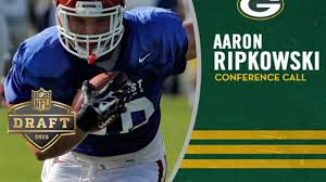 Aaron Ripkowski's visit to Green Bay like no other