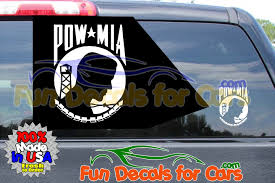 Pow Mia Stickers Vinyl Die Cut Decal Fun Decals For Cars