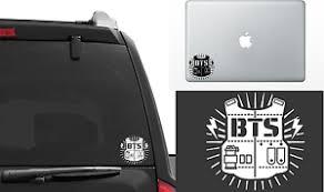 Bts Bangtan Boys K Pop Vinyl Window Decal Laptop Stickers Die Cut Ebay