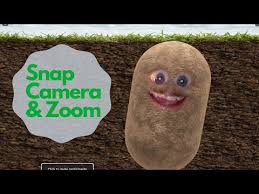 Make Yourself Into A Potato On Zoom With Snap Camera! - YouTube