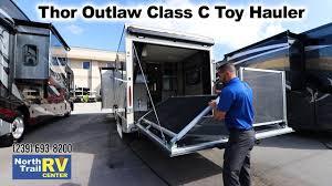 2019 thor outlaw 29j cl c toy hauler