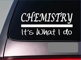 Chemistry Sticker Decal Textbook Student School Teacher College Lab Flask Window Sticker Stickers Aliexpress