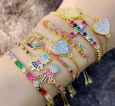 whole brazilian gold bracelets