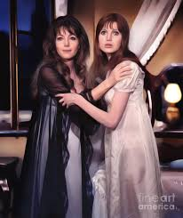 Ingrid Pitt and Madeline Smith Digital Art by Esoterica Art Agency