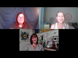 Leigh & Paula Chat with Artist Adele Campbell - YouTube
