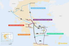 greece travel maps maps to help you