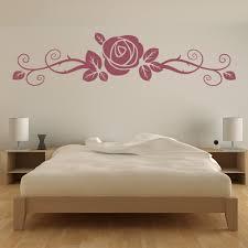 Rose Flower Floral Headboard Wall Decal Sticker Ws 17065 Ebay