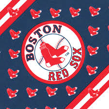 Mlb Baseball Boston Red Sox Accent Wallpaper Border Roll Contemporary Wall Decals By Store51 Llc