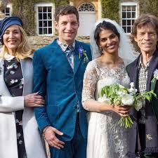 Jerry Hall and ex-husband Mick Jagger reunite at son's wedding ...