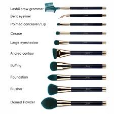 types of makeup brushes and its uses