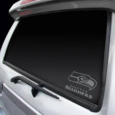 Seattle Seahawks Decal Chrome Window Graphic Sports Addict