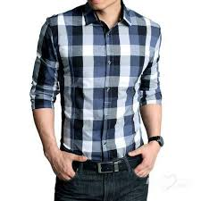 Mens Fancy Check Shirts at Rs 430/piece(s) | Men Check Shirt | ID ...