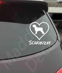 Love Your Schnauzer Vinyl Decal