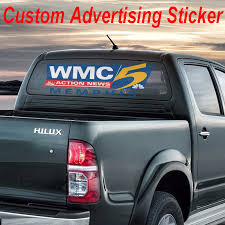 Business Lettering Back Window Advertising Sign Vinyl Decal Sticker Truck Suv Business Industrial Business Signs Alberdi Com Mx