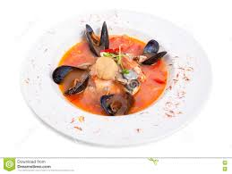 Spicy Tomato Seafood Soup With Saffron ...