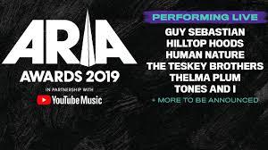 ARIA AWARDS 2019 THE BIG REVEAL ...