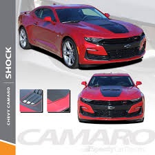 Shock 2019 2020 Chevy Camaro Center Hood Stripe Decals Vinyl Graphics Kit Premium And Supreme Install Speedycardecals Fast Car Decals Auto Decals Auto Stripes Vehicle Specific Graphics