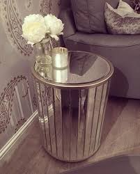 george home mirror mosaic side table