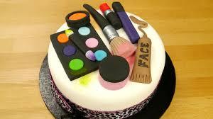 s makeup kit cake birthday cake
