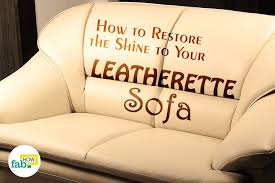 clean your leatherette