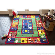 8 X10 Kids Girls Boys Children Toddler Playroom Rug Carpet Nursery Room Area Rug Bedroom Rug