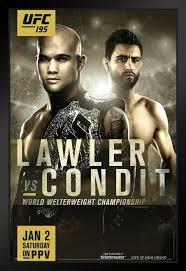 UFC 195 Robbie Lawler vs Carlos Condit ...