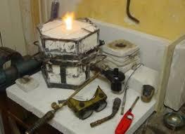 homemade propane furnace