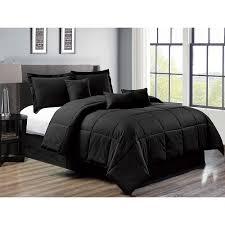 7 piece down alternative comforter set