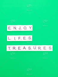 enjoy life s treasures life lesson life quote life is short