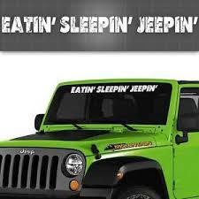 Jeep Windshield Decal Jeep Window Sticker It S A Jeep Thing 42 X 4 Ebay