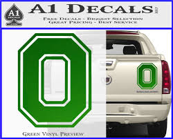 Ohio State University Logo Decal Sticker A1 Decals