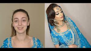 asian bridal hair makeup tutorial by