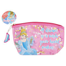 disney princess beauty bag wilko