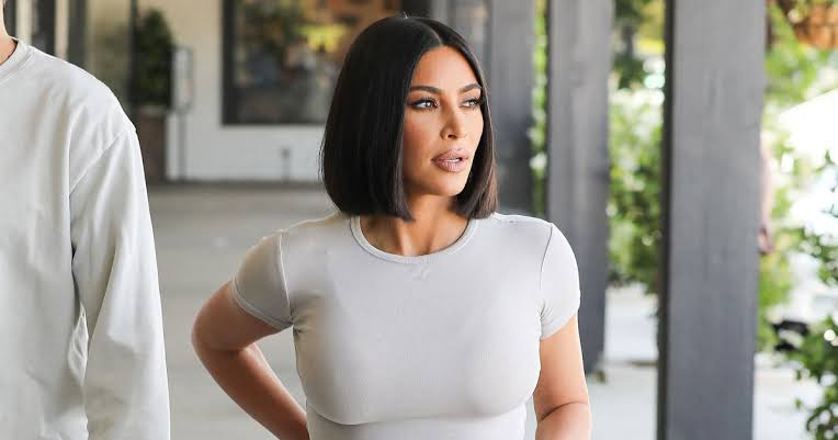 Image result for kim kardashian bob cut""