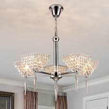 modern crystal chandelier ceiling