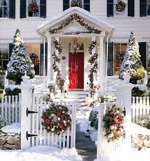 Christmas Decorations For Front Porch Christmas Celebration All About Christmas